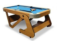 "NEW RILEY RPT-6F SUPASIZE 6' 6"" x 3' 3"" FOLDING AMERICAN STYLE POOL TABLE"